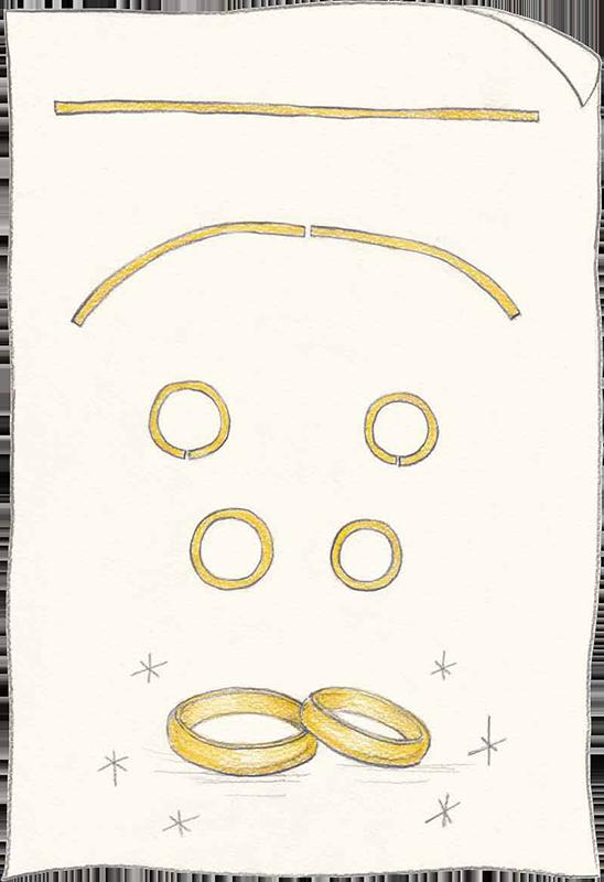 お二人で分かち合う Share Ring