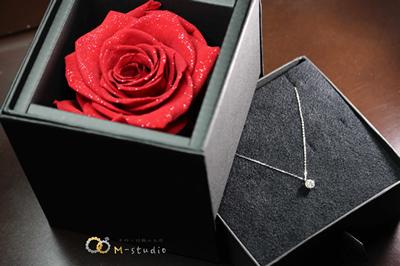 pt900ダイヤモンドペンダント