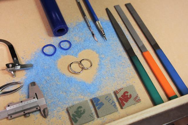 デザインワックスで作る手作り結婚指輪・婚約指輪