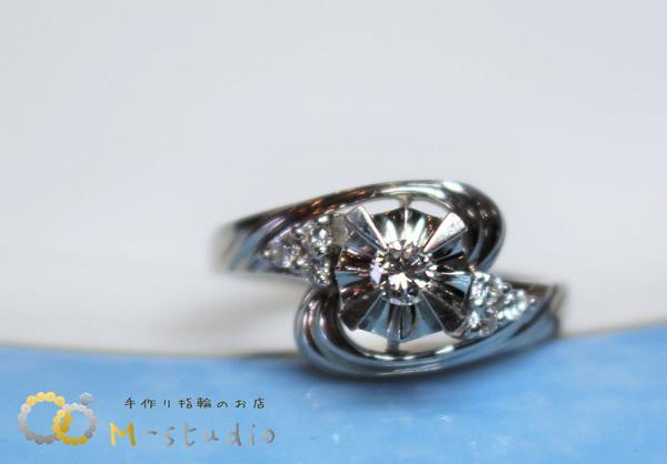 ダイヤモンド 指輪 リフォーム