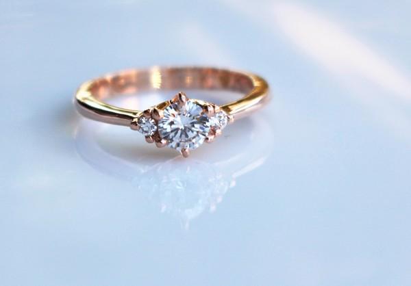 婚約指輪(エンゲージリング) K18PG