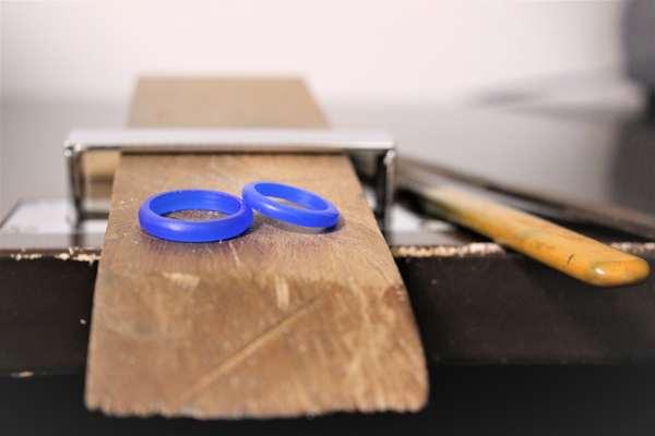 手作り結婚指輪ワックスコースのお客さま