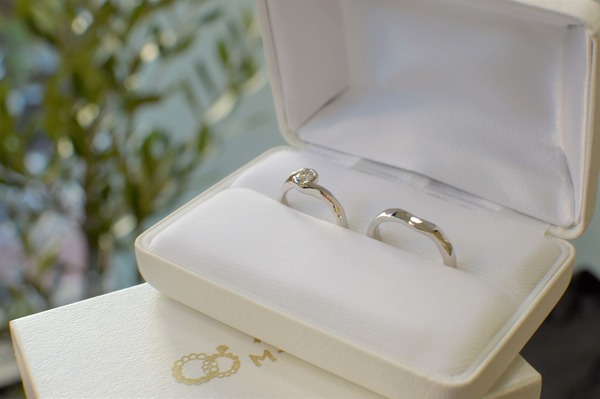 *オーダーメイド結婚指輪 (福岡市博多区のお客様)