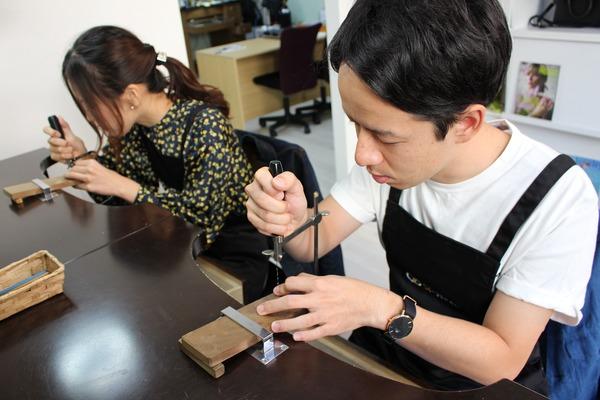 2018.10福岡市西区からお越しのU様(手作り結婚指輪)
