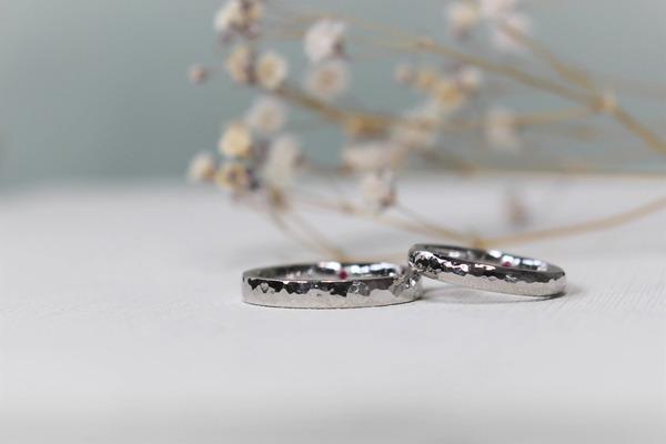 長崎県からお越しお客様手作り結婚指輪
