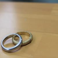 見せ合いながら作った結婚指輪のサムネイル